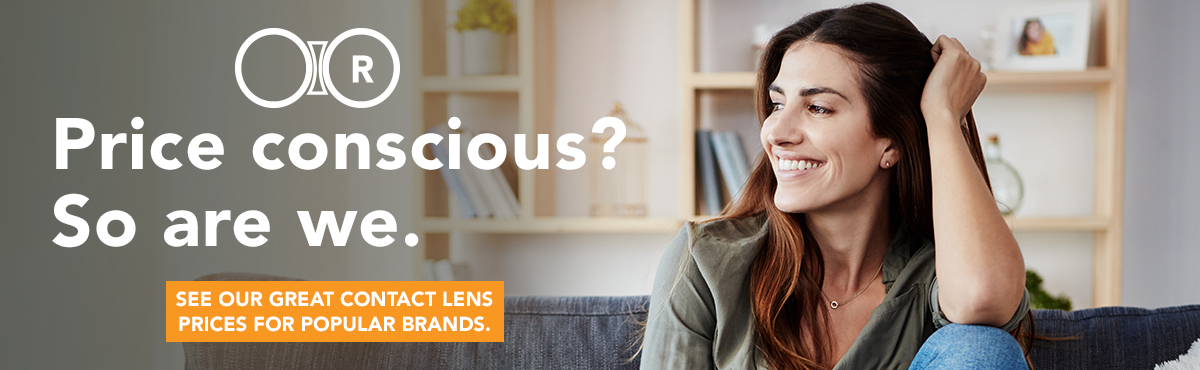 No need to shop around to save – great contact lens prices at your fingertips.